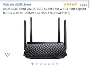 ASUS Wireless Dual Band Router AC1300 for Sale in Renton, WA