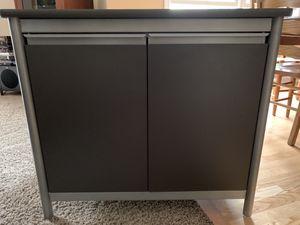 Dark grey metal commercial grade storage cabinet for Sale in Naperville, IL