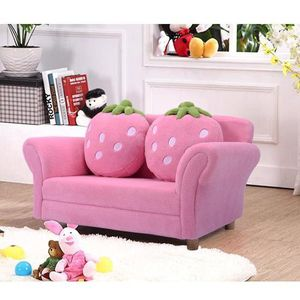 Bl/Pi Kids Strawberry Armrest Chair Sofa-Pink HW54190PI for Sale in Palmdale, CA