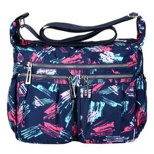 Fashion Nylon Shoulder Bags Crossbody Purse Handbag Tote Bags for Women, Blue for Sale in Burke, VA