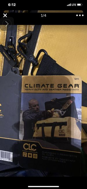 "CLC 25"" Climate Gear Large Duffle Bag for Sale in Fremont, CA"