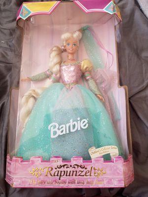 1995 collector barbie Rapunzel for Sale in Anaheim, CA