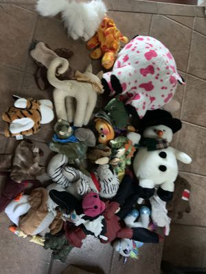 Stuffed animal hand puppet lot for Sale in Lemon Grove, CA