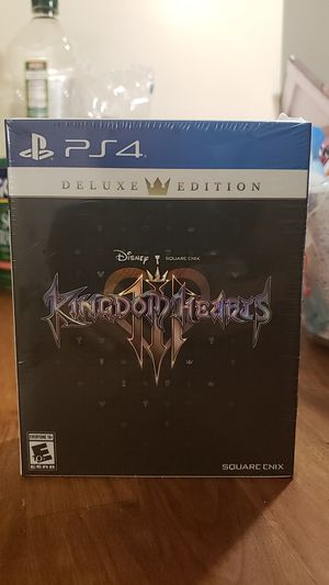 Kingdom Hearts 3 Deluxe Edition PS4 for Sale in Newark, NJ