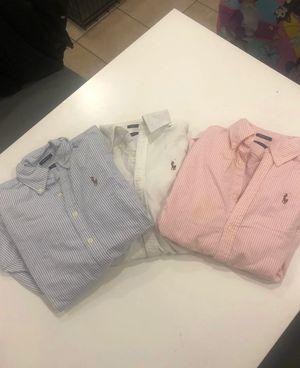 3 women dress shirts Ralph Lauren XS for Sale in Miami, FL