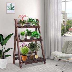 Wood Plant Stand Storage Display Rack Home Decor for Sale in New York, NY