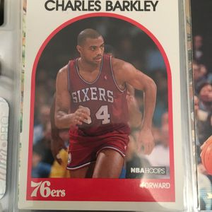 Charles Barkley 76ers Basketball Card for Sale in Atlanta, GA