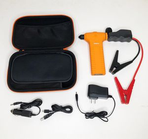 (NEW) $20 Car Jump Starter 400A Peak Current, 11000mAh Power Bank, Built-in Escape Hammer & LED Flashlight for Sale in South El Monte, CA
