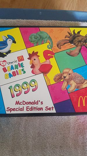 McDonald's 1999 TY Beanie Babies Special Edition Collectors Set for Sale in Arlington, WA
