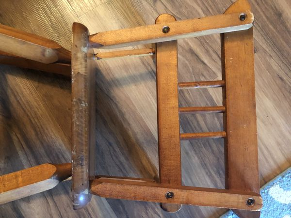 """Vintage kids chair """"21.5"""" inches"""