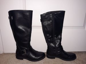 Thigh high black boots for Sale in Longwood, FL