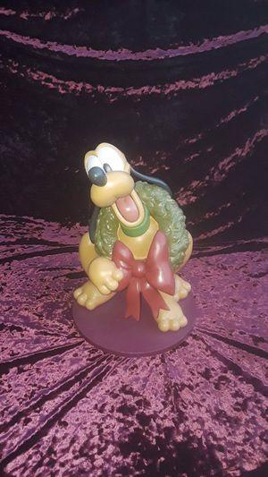 Extremely Rare Genuine Walt Disney Pluto 1346 Figurine Statue for Sale in Wonder Lake, IL