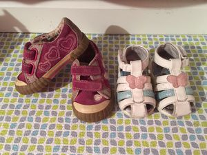 Sandals fits 6-9 months / And shoes fits a 12 months ✨ take both for $5 for Sale in Tampa, FL