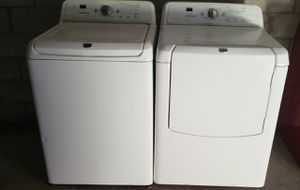 Maytag bravo commercial technology kingsize capacity washer and electric dryer set for Sale in Phoenix, AZ