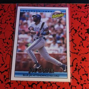 4 Baseball cards Joe Carter for Sale in Costa Mesa, CA