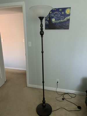 """Floor stand lamp for sale, 66"""" tall for Sale in St. Louis, MO"""