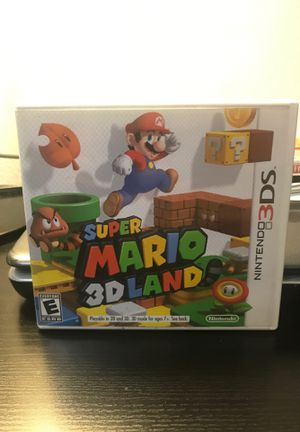 Super Mario 3D Land- Nintendo 3DS for Sale in Queens, NY