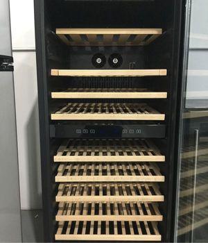 Wine Cooler Home Appliances Kitchen Refrigerator vinera 54in 53 Bottle WC0079 AKDY Dual Zone for Sale in Miami, FL
