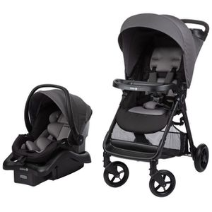 Safety First Smooth Ride Travel System with Infant Car Seat for Sale in Bentonville, AR