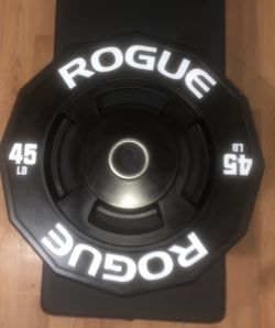 Rogue 45lb bumper plate for Sale in Brooklyn,  NY
