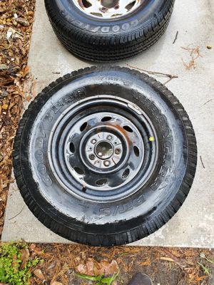 Spare tires with rims. Trailer and Ford ranger for Sale in Virginia Beach, VA