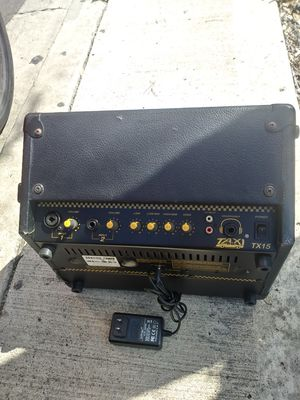 "Crate ""Taxi TX15"" Rechargeable 15Watt Guitar/PA Amp. Long Battery Life--Works Perfect for Sale in San Diego, CA"