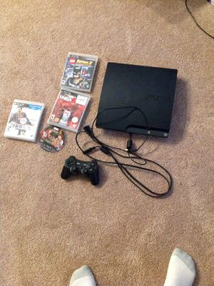 Sony Play station 3 slim 250gb for Sale in North Potomac, MD