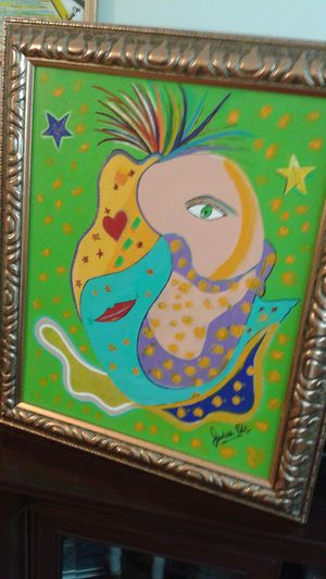 Original Painting - Who am I? for Sale in Orlando, FL