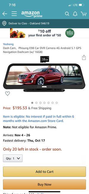Phisung car camera recorder for Sale in Oakland, CA