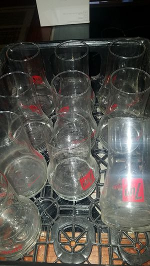 Cool Vintage collectible 7UP uncola glasses for Sale in Spring, TX