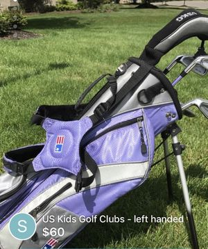 US KIDS Girls golf clubs - left handed for Sale in Powell, OH
