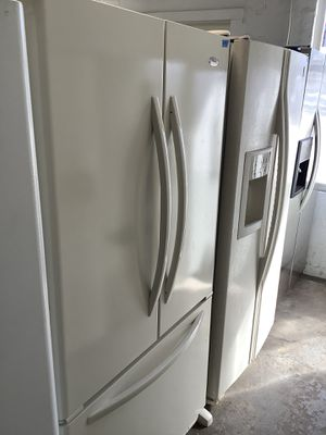 Whirlpool French style Affordable Refrigerator Home Kitchen Appliance for Sale in Tampa, FL