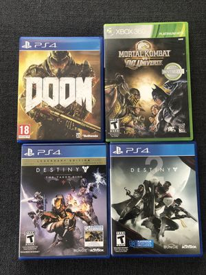 PS4 and Xbox 360 Games Lot for Sale in Torrance, CA