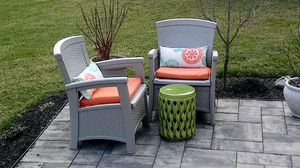 Patio chairs with cushons for Sale in Dover, DE