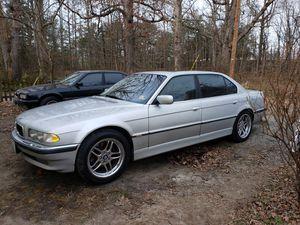 2001 BMW 740IL for Sale in Crewe, VA