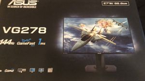 """ASUS 27"""" VG278 1080p 144hz Monitor for Sale in Raleigh, NC"""