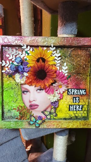 Mixed media wall decoration from foam for Sale in Nashville, TN
