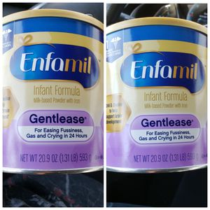●PICK UP BELL GARDENS● $40 FOR 2 CANS OF ENFAMIL GENTLEASE 20.9oz CANS EXPIRE 2021 for Sale in Bell Gardens, CA