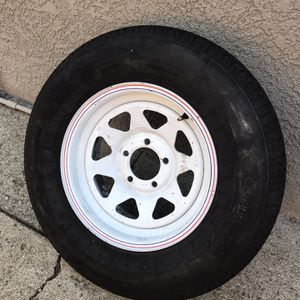 Trailer Spare Wheel / Tire 205/75/R14 St2 8 Ply for Sale in Hayward, CA