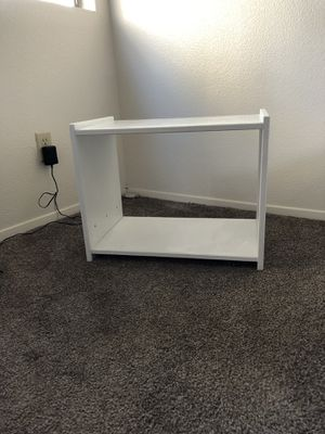 white book shelf for Sale in San Diego, CA