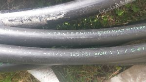 Three quarter and half inch sprinkler line $25 for both for Sale in Cleveland, OH