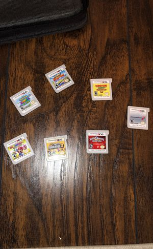 Nintendo 3DS games and case for Sale in Cleveland, OH