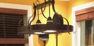 dining area metal light fixture. for Sale in Miami, FL