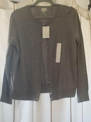 NWT grey cardigan Size XL for Sale in Tolleson, AZ