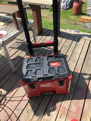 milwaukee packout rolling box for Sale in West Windsor, NY