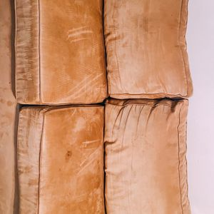 Tan Couch, 3 Pieces, No Tears Or Holes for Sale in Scottsdale, AZ