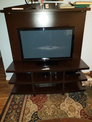 """Tv (Panasonic 40"""") & tv stand for Sale in St. Louis, MO"""