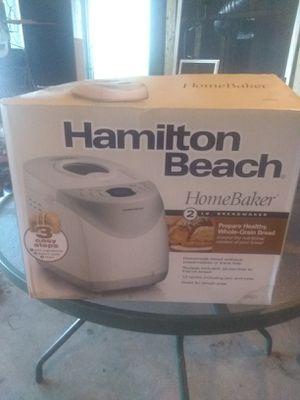 Hamilton Beach bread maker for Sale in Blackstone, MA