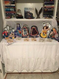 RARE RARE!! Classic Super Hero Cake Pans Rare Star Wars!! for Sale in Lincolnia, VA