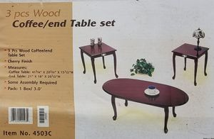 Coffee Table and End Table Set/Living Room/Home for Sale in Murfreesboro, TN